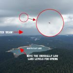 UFO Caught Sucking Water Out Of California Lake