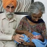 Indian woman in her 70s gives birth to first baby after IVF treatment